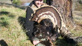 Turkey Hunt at Larry Jarrett's Idaho Ranch and Lodge