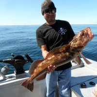 Javier and Ling Cod