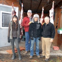 Javier and family visiting Larry Jarretts Whitetail Lodge in Kooskia Idaho