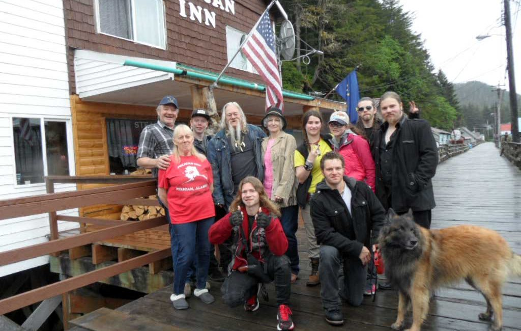 Pelican Inn Hosted Alaska Bush People family and film crew