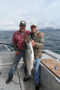 Bob Parks with Guide Larry