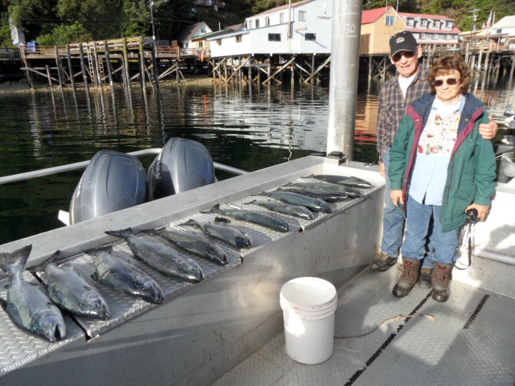 Alaska day limit of Silver Salmon