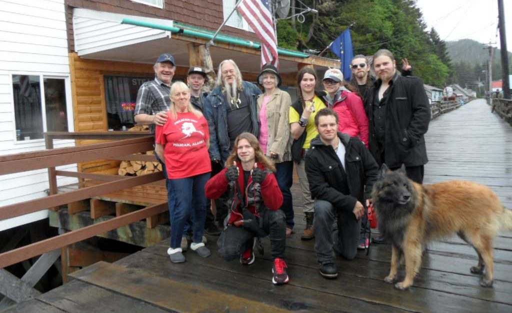 Wild Alaska Hosted Alaska Bush People family and film crew